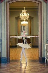 Tracy Jones, who went on to study at the Royal Ballet School
