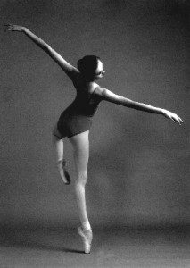 Portia van Brahm, who went on to study at the Royal Ballet School